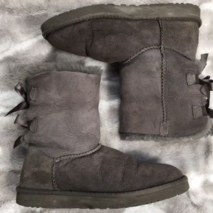 UGG Gray Eva sheepskin lined winter boots 7